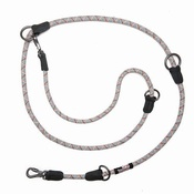 Long Paws - Comfort Rope Training Leash - Grey