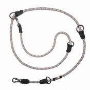 Long Paws - Comfort Rope Training Leash - Grey