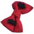 Red Velvet Dog Bow Tie 3