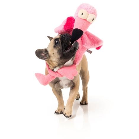 Flo the Flamingo Dog Toy 3