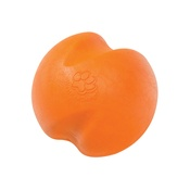 West Paw - Zogoflex® Jive Dog Ball – Tangerine