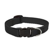 "Collarways - 1/2"" Width Black Lupine Dog Collar"