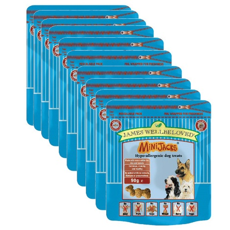 Minijacks Turkey Dog Treat x 10