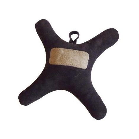 Suede Leather Throw Dog Toy