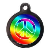 PS Pet Tags - Peace Pet ID Tag