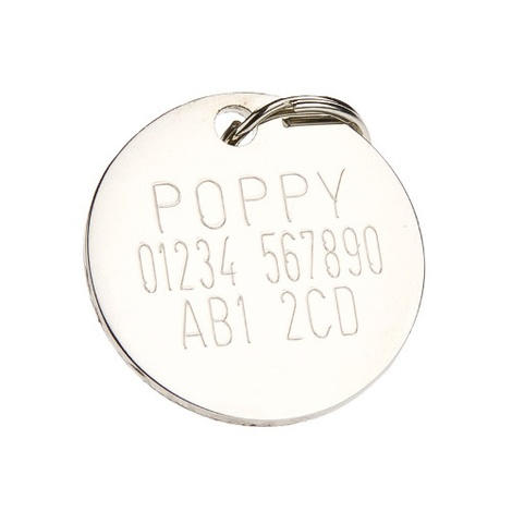 Mod style Target Dog ID Tag 2