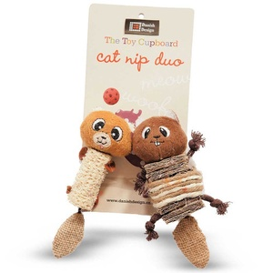 Chip & Chap Chipmunk Catnip Duo