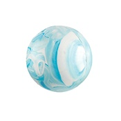 Gor Pets - Gor Rubber Ball - Blue