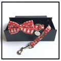 The Finland Bow Tie and Lead Set 3