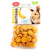 Critter's Choice - Banana Buttons for Small Pets
