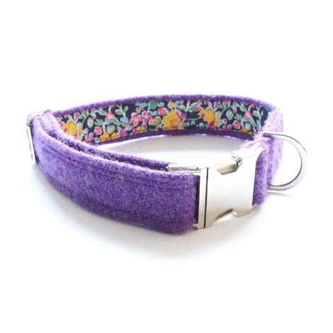 Hamish Harris Tweed Dog Collar