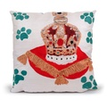 Corgi & Crown Jewels Cushion 2