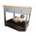 Handmade Wooden Kitchen Unit Dog Bed