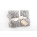 Shaggy Pet Blanket - Silver 2