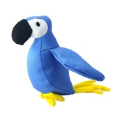 Beco Pets - Lucy the Parrot Squeaky Plush Dog Toy