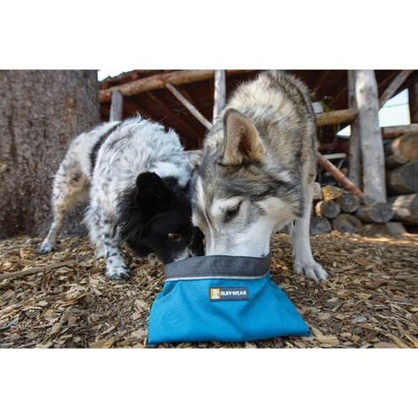 Ruffwear Quencher Bowl - Pacific Blue 3