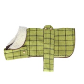 House of Paws - Tweed Dog Coat – Green