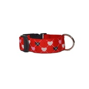 Pet Pooch Boutique - Queen of Hearts Dog Collar
