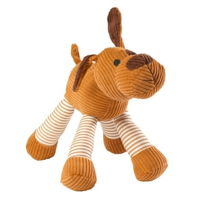 Barking Dog Corduroy Dog Toy