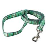 Yellow Dog - Tartan Plaid Dog Lead – Green
