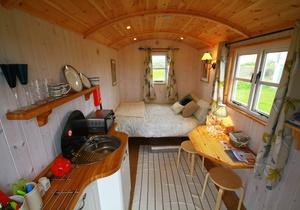 Rhossili Scamper Holidays - Dylan Shepherd Hut, Swansea 2