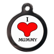 PS Pet Tags - I Love Mummy Pet ID Tag