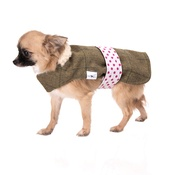Minkeys Tweed - Caprice Tweed Dog Coat