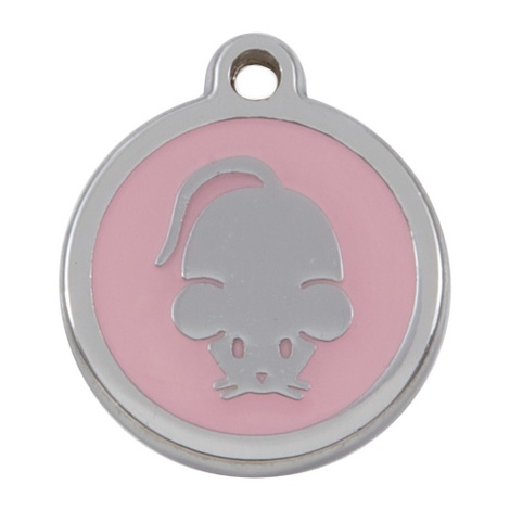 My Sweetie Light Pink Mouse Pet ID Tag