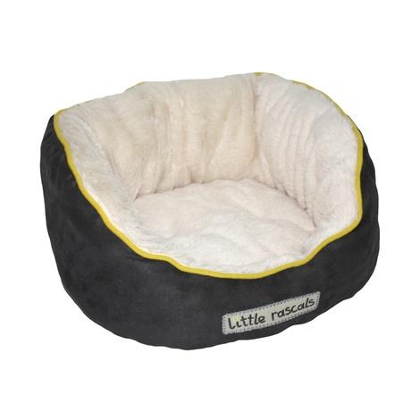 Little Rascals Night Night Pet Bed – Dark Grey