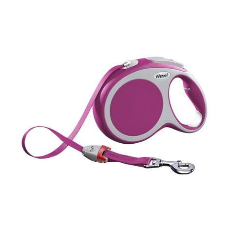 VARIO Large Retractable Lead 8m - Pink