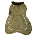 Go Walk 2-in-1 Thermal Dog Coat – Olive Green