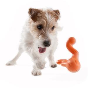 Zogoflex® Tizzi Dog Toy – Tangerine