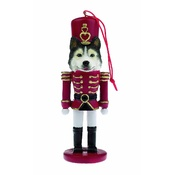 NFP - Siberian Husky Nutcracker Soldier Ornament