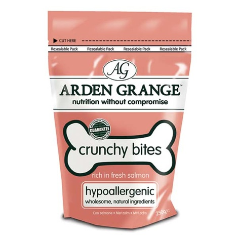 Crunchy Bites Salmon & Rice Dog Treat Dog Treat x 10