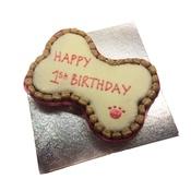 "Arton & Co - 10""x 7"" Dog Birthday Cake"