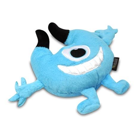 Blue Chomper Monster Plush Dog Toy 2