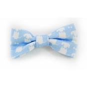 Teddy Maximus - Teddy Maximus Sky Blue Dog Bow Tie