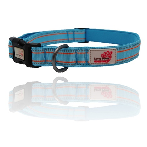 Comfort Padded Dog Collar – Blue 2
