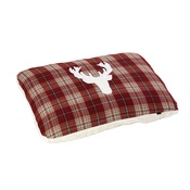 House of Paws - Rustic Tweed Pillow Dog Bed