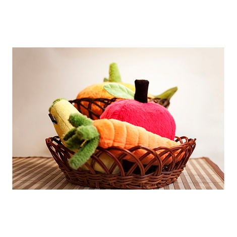 Plush Dog Toy - Apple 5