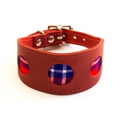 Hiro + Wolf - Shuka Red Hound Collar