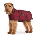 Maroon Wool Blazer Dog Coat