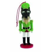 NFP - Cropped Schnauzer Nutcracker Soldier Ornament