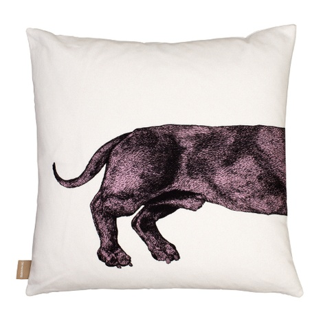 Dachshund Cushion - Pink 2