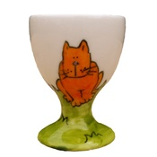 Laura Lee Designs - Cats Egg Cup