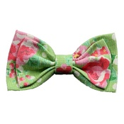 Love from Lola - Cat Collar Bow Accessory - Vintage Rose