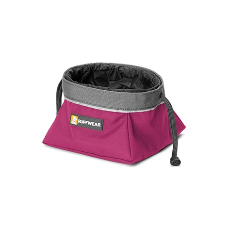Ruffwear Quencher Cinch Top Bowl - Purple Dusk