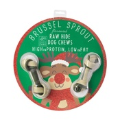 House of Paws - Bauble with Dog Bone - Brussell Sprout