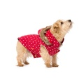 Polka Dot Dog Gilet – Red