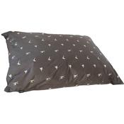 Hem & Boo - Country Print Deep Duvet Dog Cushion - Brown